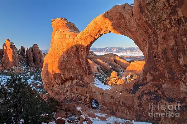 Photograph - Glowing Spires And Arches by Adam Jewell