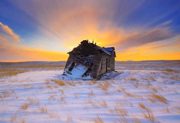 Glowing Winter Art Print by Kadek Susanto