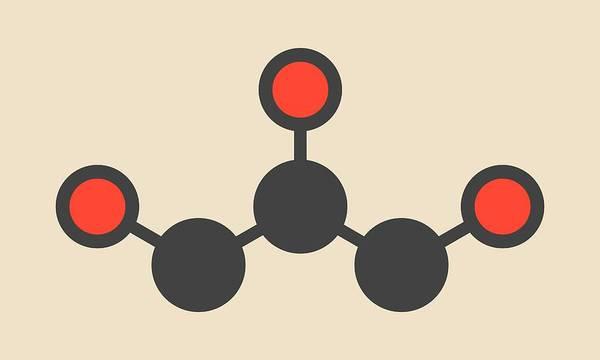Preservative Wall Art - Photograph - Glycerin Molecule by Molekuul