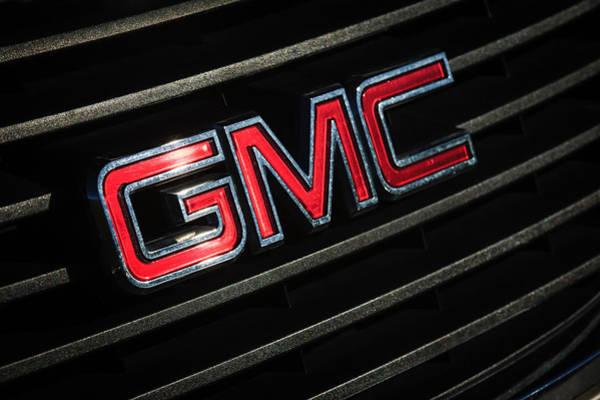 Photograph - Gmc Emblem - 1634c by Jill Reger