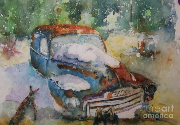 Painting - Gmc Lost Not Forgotten by Carol Losinski Naylor
