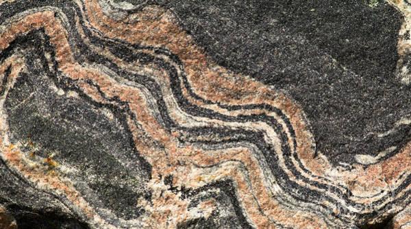 Gneiss Rock  Art Print