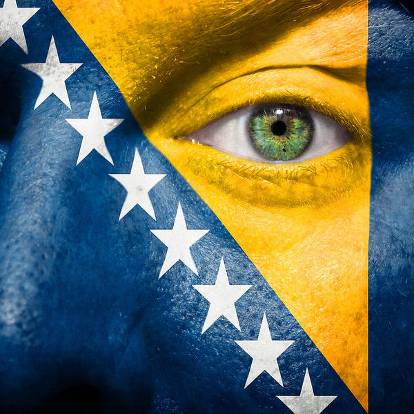 Wall Art - Photograph - Go Bosnia And Herzegovina  by Semmick Photo