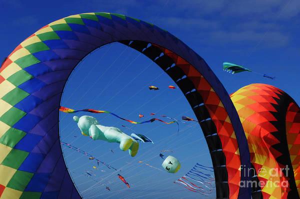 Kite Festival Wall Art - Photograph - Go Fly A Kite 2 by Bob Christopher