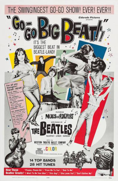 Wall Art - Photograph - Go-go Big Beat, Us Poster, 1965 by Everett