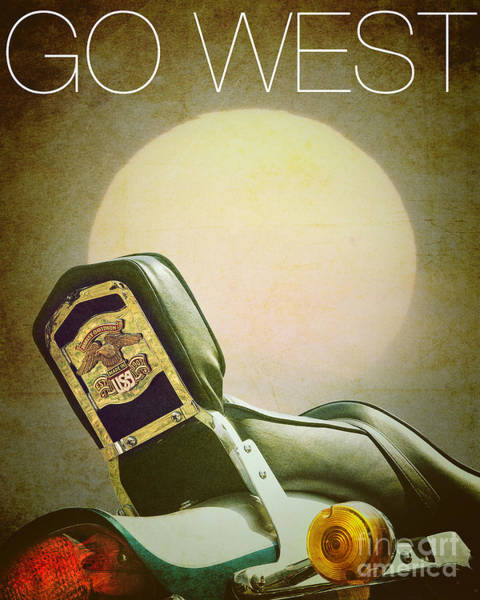 Photograph - Go West by Edmund Nagele