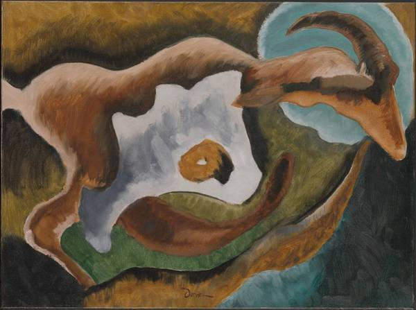 Central America Painting - Goat by Arthur Dove