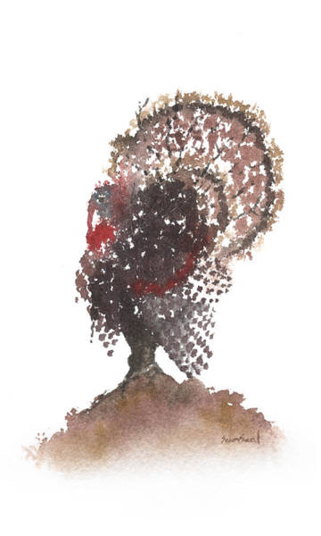 Wall Art - Painting - Gobbler Tree 799 by Sean Seal