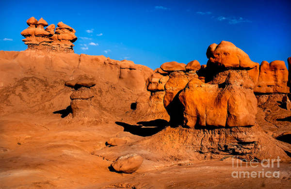Goblin Valley State Park Photograph - Goblin Hoodoos by Robert Bales