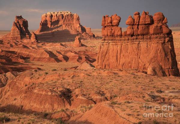 Goblin Valley State Park Photograph - Goblin Valley Landscape by Adam Jewell