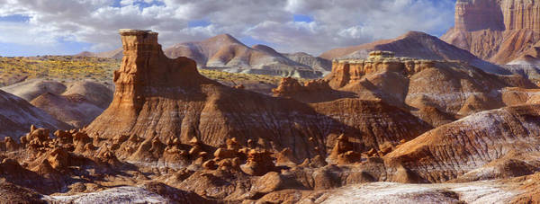 Goblin Valley State Park Photograph - Goblin Valley State Park Panoramic by Mike McGlothlen