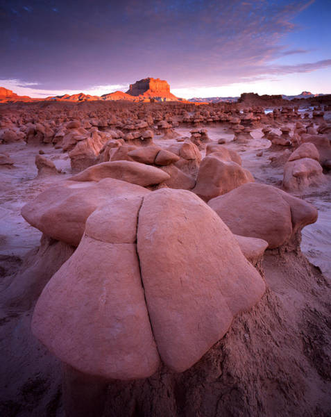 Photograph - Goblin Valley Sunrise by Ray Mathis