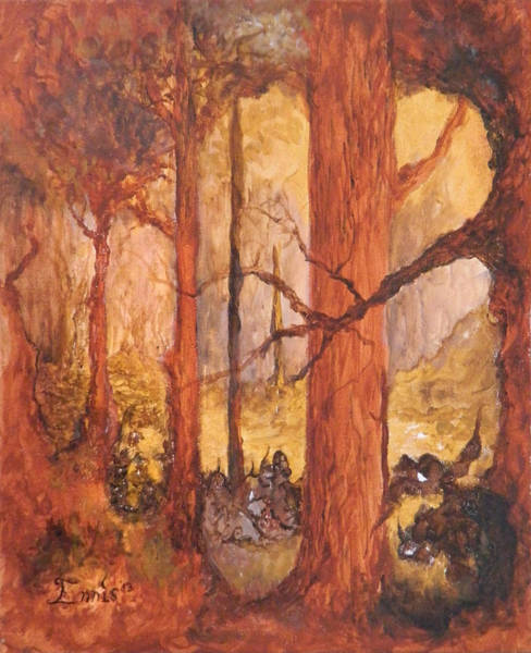 Painting - Goblins' Glen by Christophe Ennis