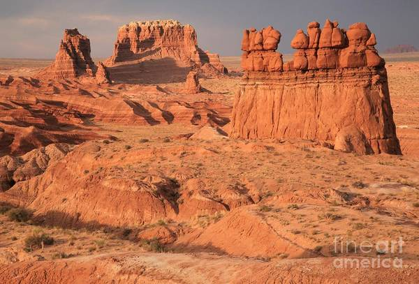 Goblin Valley State Park Photograph - Goblins Towers And Buttes by Adam Jewell