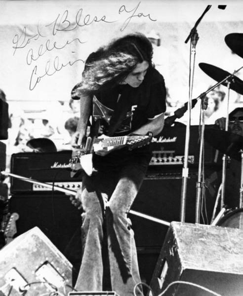 Lynyrd Skynyrd Photograph - God Bless You A C by Ben Upham