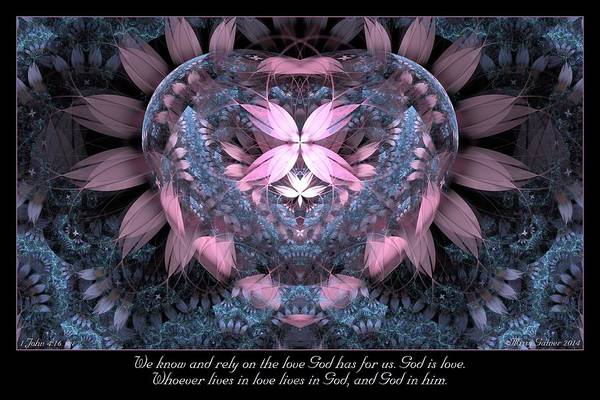 Digital Art - God Is Love by Missy Gainer