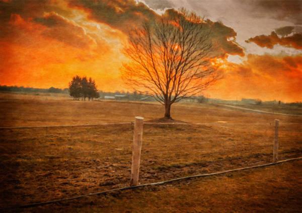Photograph - God Light Textured by Garvin Hunter