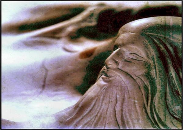 Sculpture - God Of Creation by Glenn Bautista