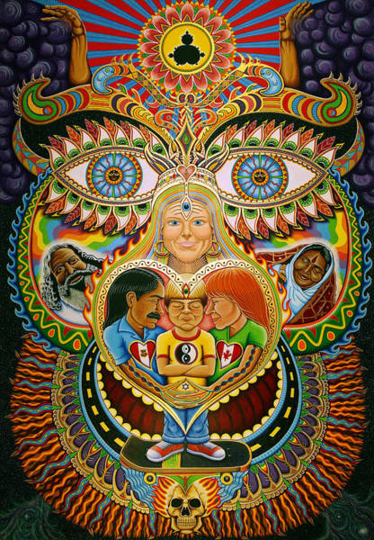 Guru Painting - God Of Healing by Chris Dyer