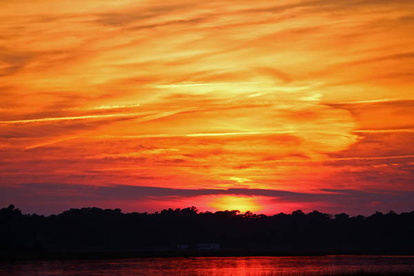 Wall Art - Photograph - God Paints The Sky by Cynthia Guinn