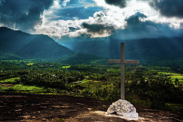 Kerala Photograph - God Rays by Photo By: Sujith Varma