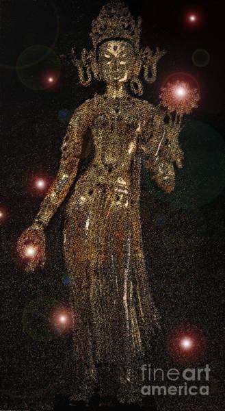 Wall Art - Mixed Media - Goddess Magic By Jrr by First Star Art