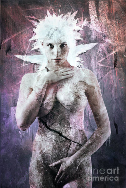 Frozen Digital Art - Goddess Of The Water Oh My Goddess Edition by Michael Volpicelli
