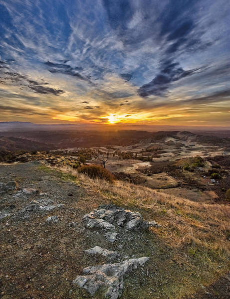 Figueroa Mountain Photograph - God's Country by Lynn Andrews