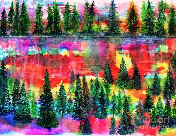 Wall Art - Painting - God's Kaleidoscope by Hazel Holland