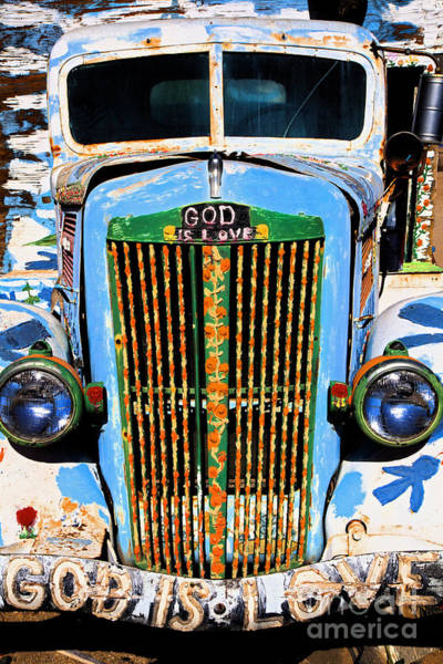 Photograph - Gods Truck by Jim West