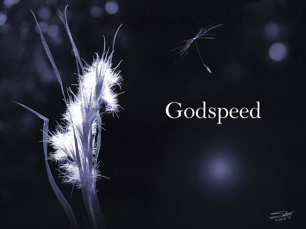 Photograph - Godspeed by M Spadecaller