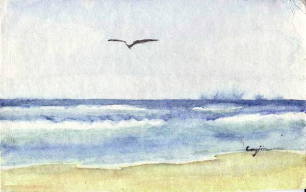Painting - Goelan Atlantique by Marc Philippe Joly