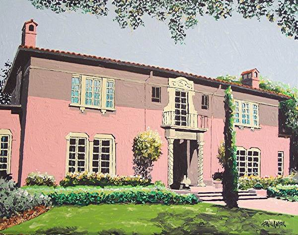 Goethe House Art Print by Paul Guyer