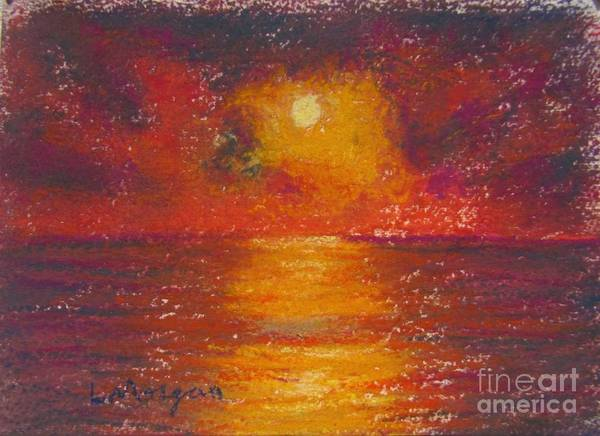 Painting - Island Sunset by Laurie Morgan