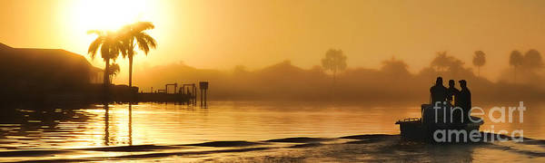 Photograph - Going Fishing On A Florida Morning by Dan Friend