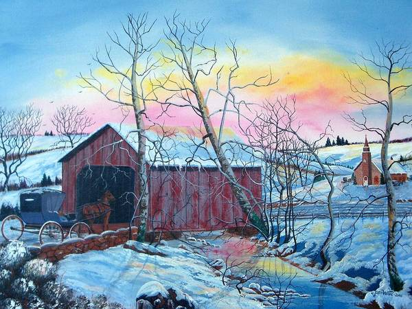 Sycamore Painting - Going Home by Seth Wade