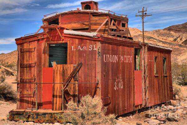 Photograph - Going Nowhere In Rhyolite by Adam Jewell
