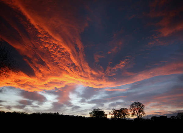 Inferno Wall Art - Photograph - Going Out In A Blaze Of Glory by David Conniss