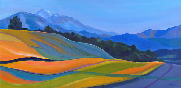 Painting - Going To California by Tanya Filichkin