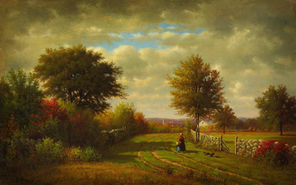 Painting - Going To Market by Celestial Images
