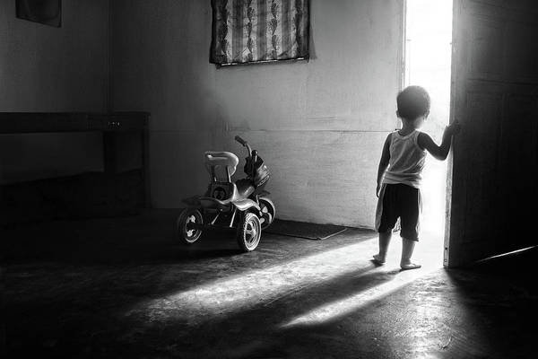 Future Photograph - Going To Play by Ivan Valentino