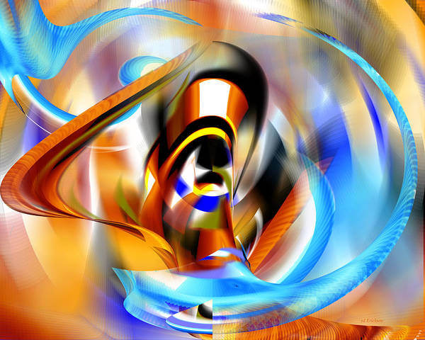 Digital Art - Going Up by Roy Erickson