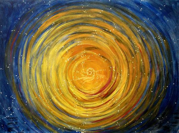 Painting - Going Within by Janelle Schneider