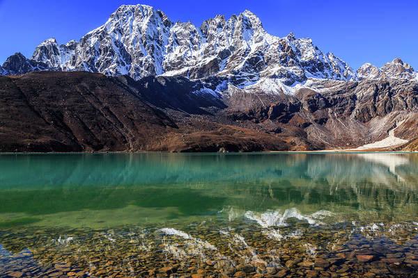 Gokyo Photograph - Gokyo Lake Third Lake, Sagarmatha by Feng Wei Photography