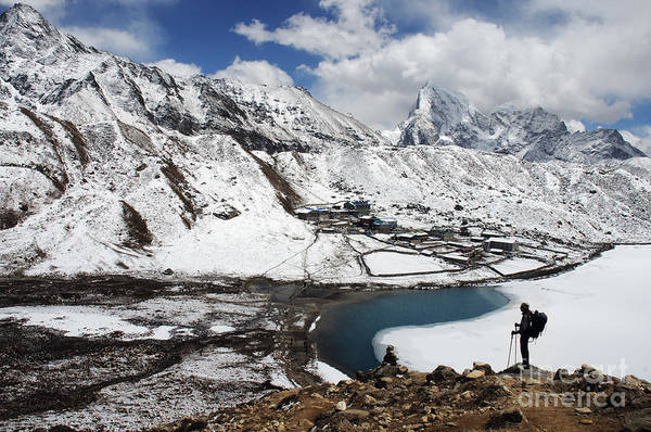 Gokyo Photograph - Gokyo Lakes by Colin Woods
