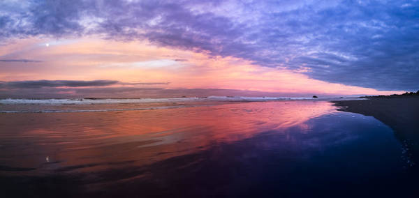 Rogue River Wall Art - Photograph - Gold Beach Panorama by Debra and Dave Vanderlaan