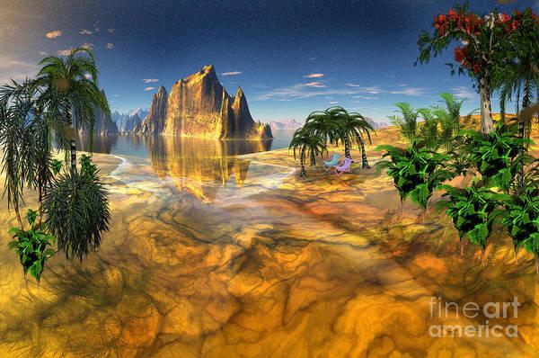 Wall Art - Digital Art - Gold Coast Dreamworld by Heinz G Mielke
