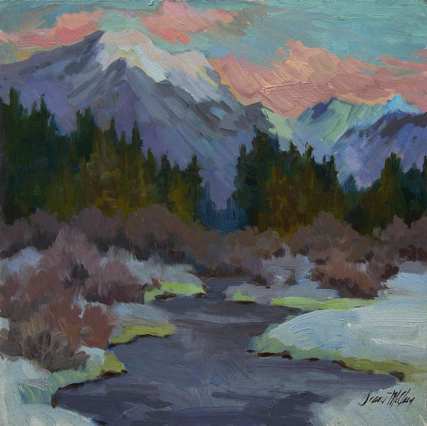 Cascade Painting - Gold Creek Snoqualmie Pass by Diane McClary