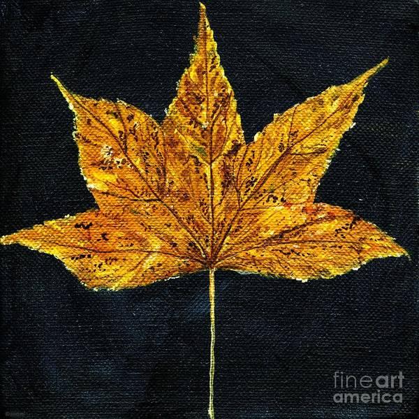 Painting - Gold Leaf by Lizi Beard-Ward