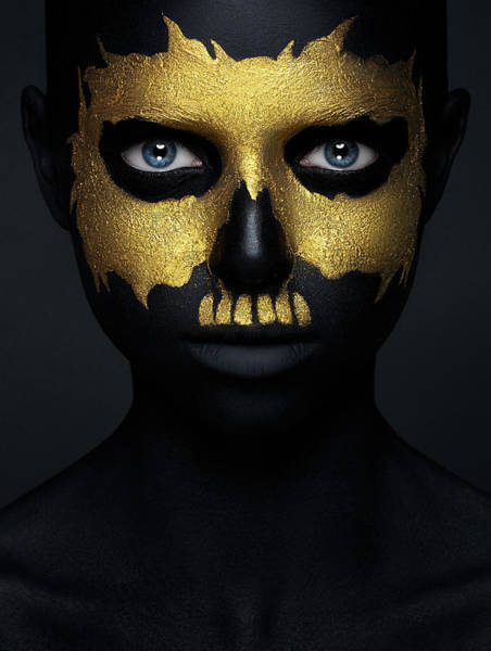 Golden Photograph - Gold Of The Dead. by Alex Malikov